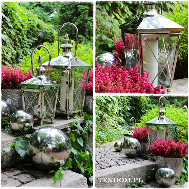 Lampiony i kule - elegancka ogrodowa dekoracja