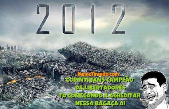 Fim do mundo 2012 Corinthians campeão