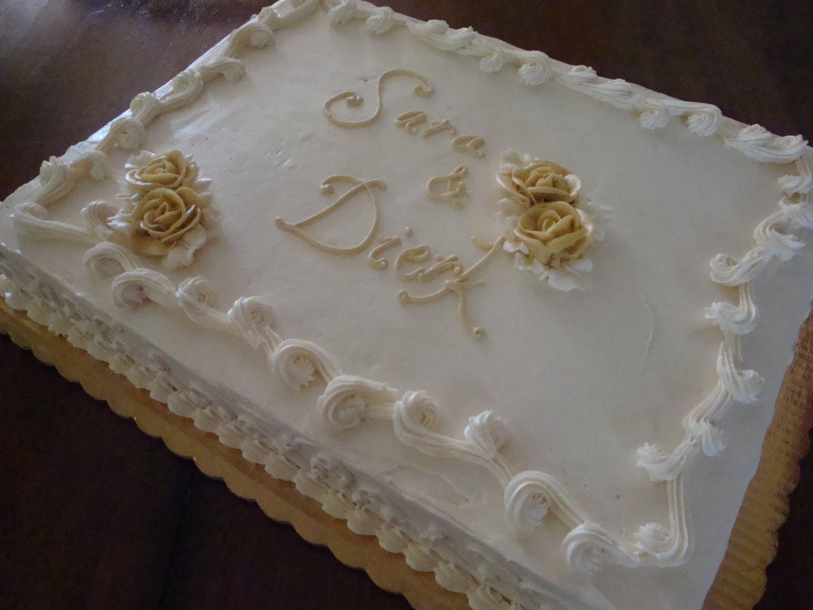 Pin Elegant Sheet Cake Cake On Pinterest