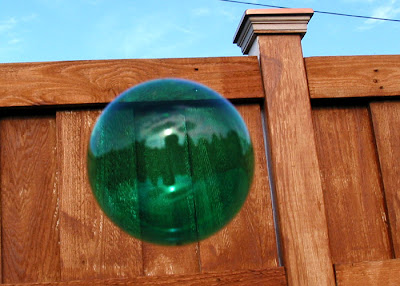 colored bubble, green