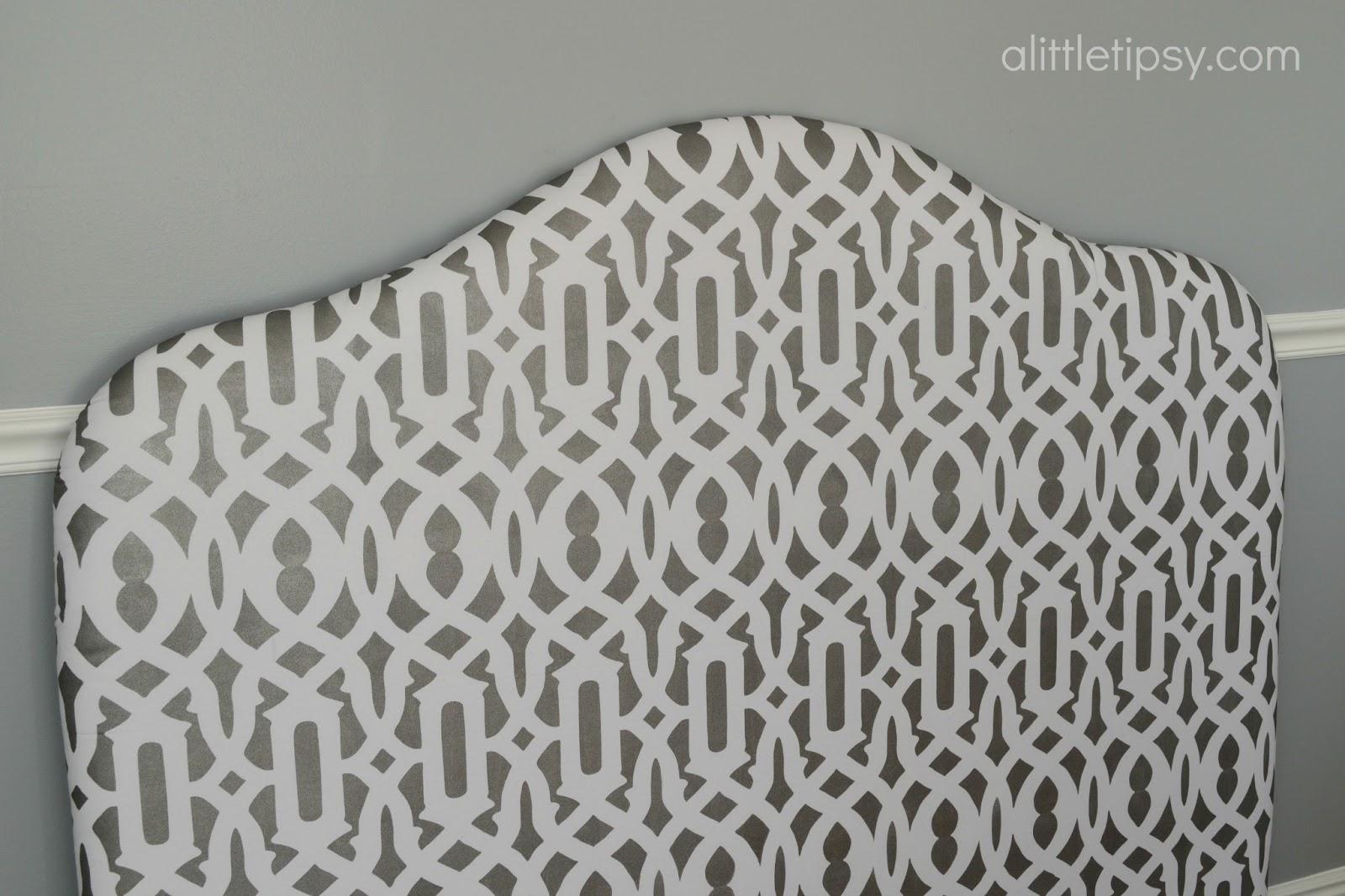 DIY Headboard & DIY Headboard - A Little Tipsy pillowsntoast.com