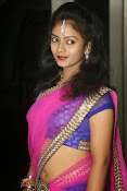 Young actress Jaya Harika in half saree-thumbnail-7