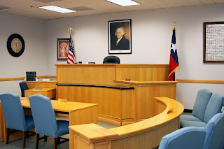 The 400th District Courtroom at UH-Clear Lake.