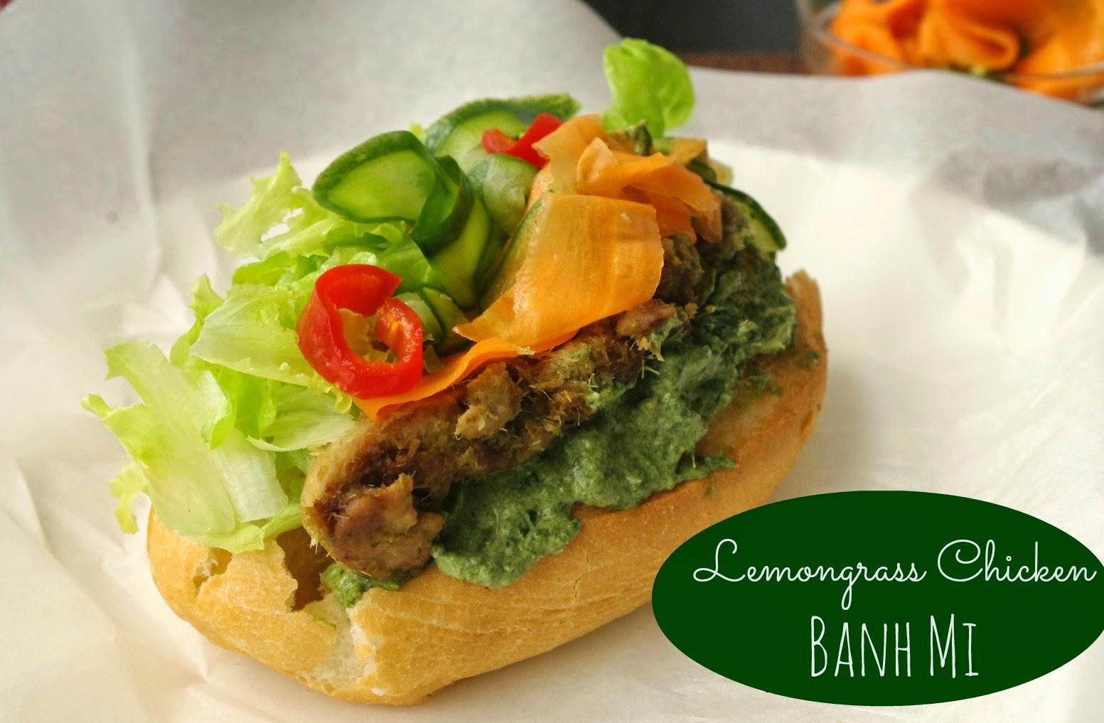 the nOATbook: Lemongrass Chicken Banh Mi