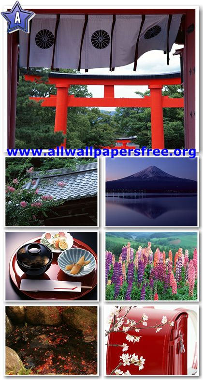 100 Beautiful Japan Views Wallpapers 1280 X 1024 [Set 1]