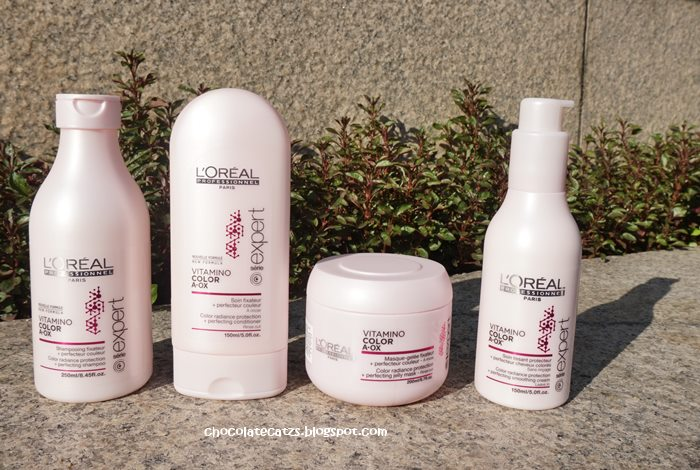 loreal professionnel vitamino color a ox is formulated with the most advanced anti oxydant a ox and protective cocktail uv filter protects from uv - L Oreal Vitamino Color