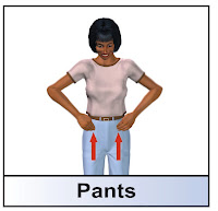 ASL for pants