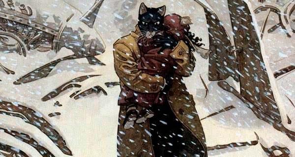 Blacksad #2 Artic-Nation, de Juan Díaz Canales y Juanjo Guarnido