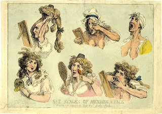 Six Stages of Mending a Face