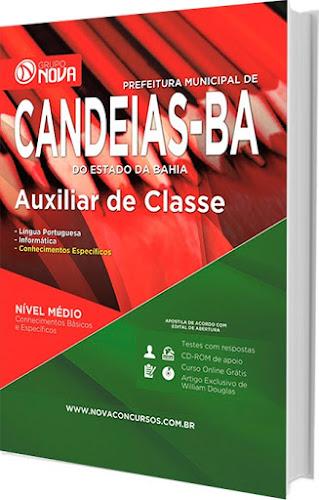 Apostila Prefeitura de Candeias 2016 - Auxiliar de Classe