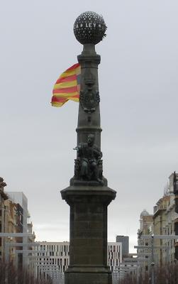 Monumento al Justiciazgo de Aragón Zaragoza Plaza de Aragón