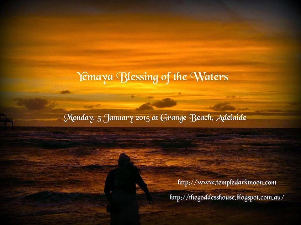 Yemaya Blessing of the Waters (Monday, 5 January 2015)