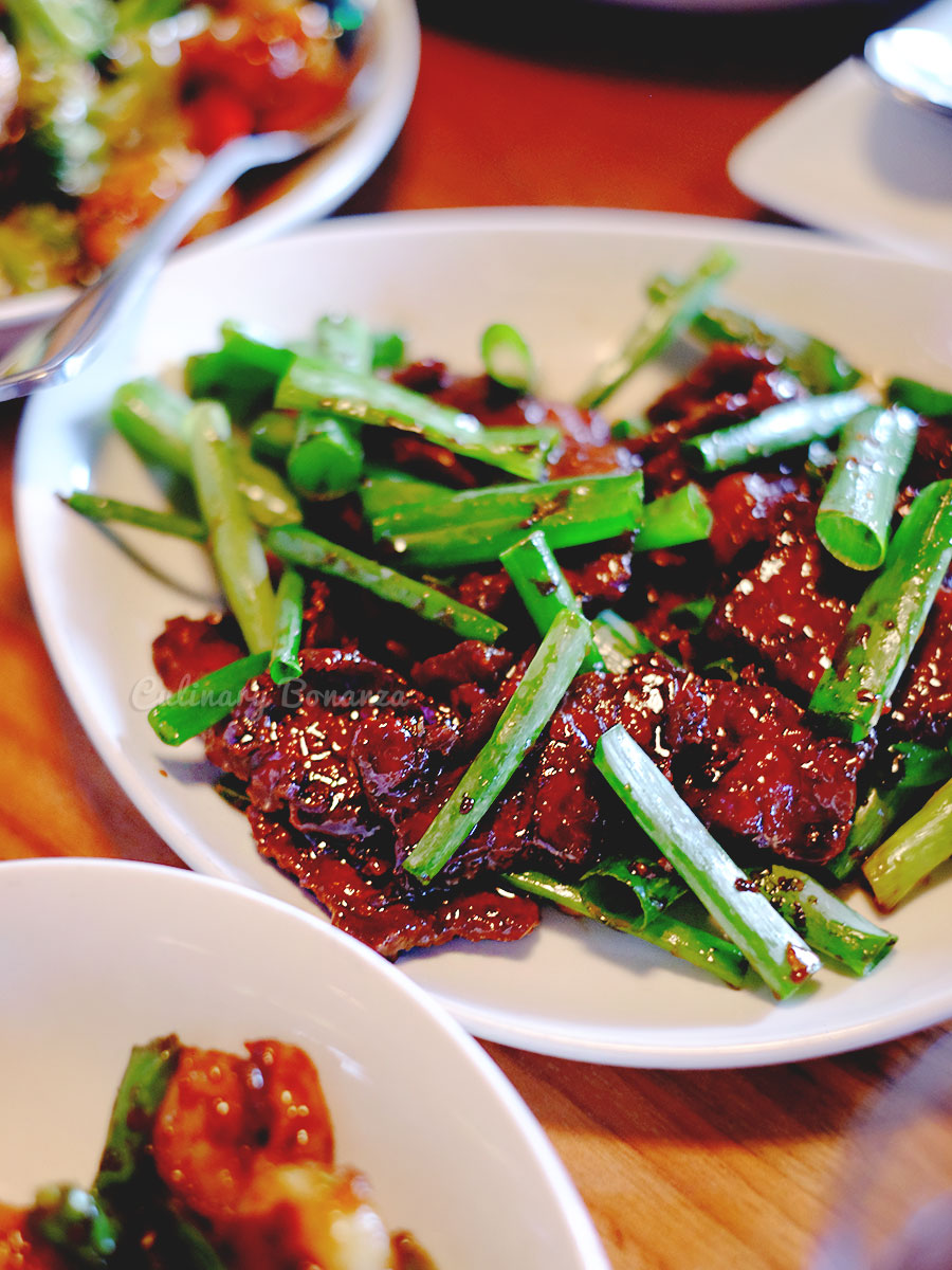 Mongolian Beef at P. F. Chang's China Bistro in Dubai (www.culinarybonanza.com)