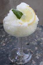 GRANITA AL LIMONE (lemon granita)