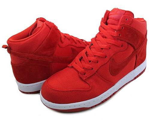 tenis nike rojos de bota