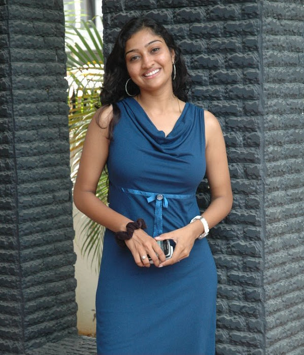 neelima rani in tight blue dress spicy cute stills