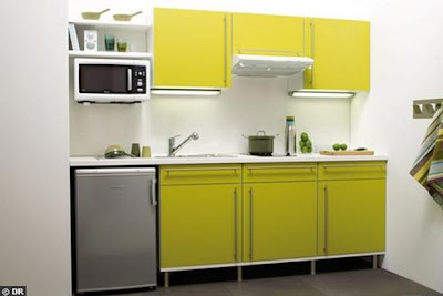 Yellow Kitchen Furniture Trend