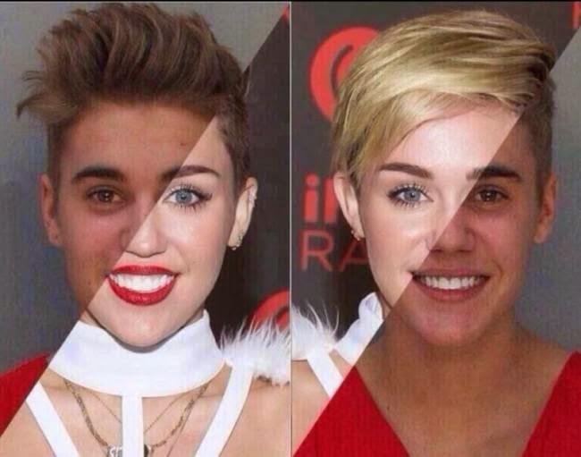 Justin Bieber vs. Miley Cyrus