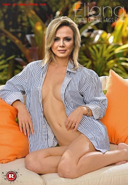 FotosNua.Com apresentadora do sbt Eliana  peladona nua sem calcinha