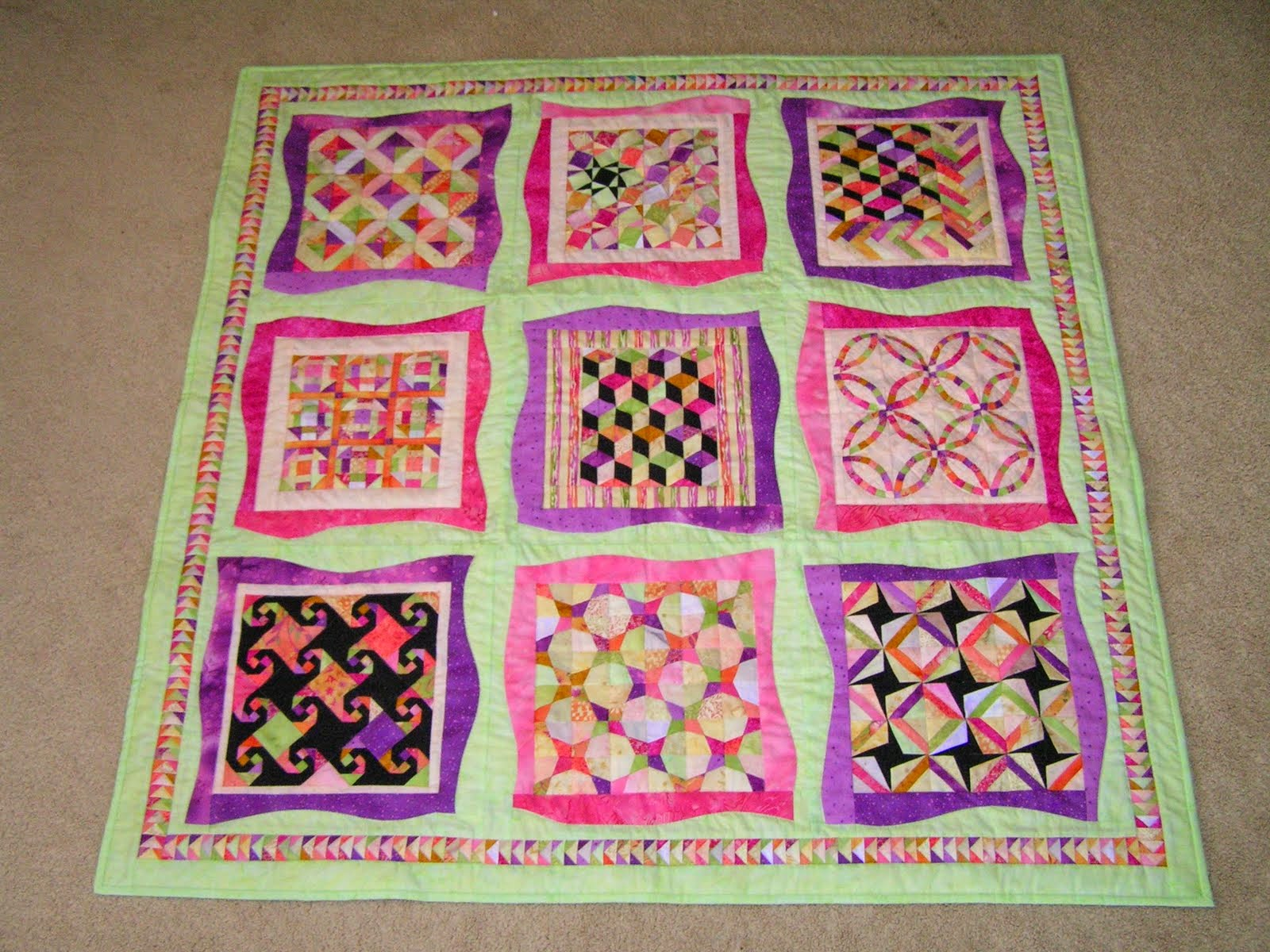 Dreamworthy Quilts: Deana: Val\'s Tuesday Archives - Mystery Quilts