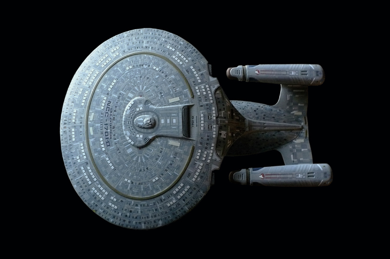 how to draw the uss enterprise d