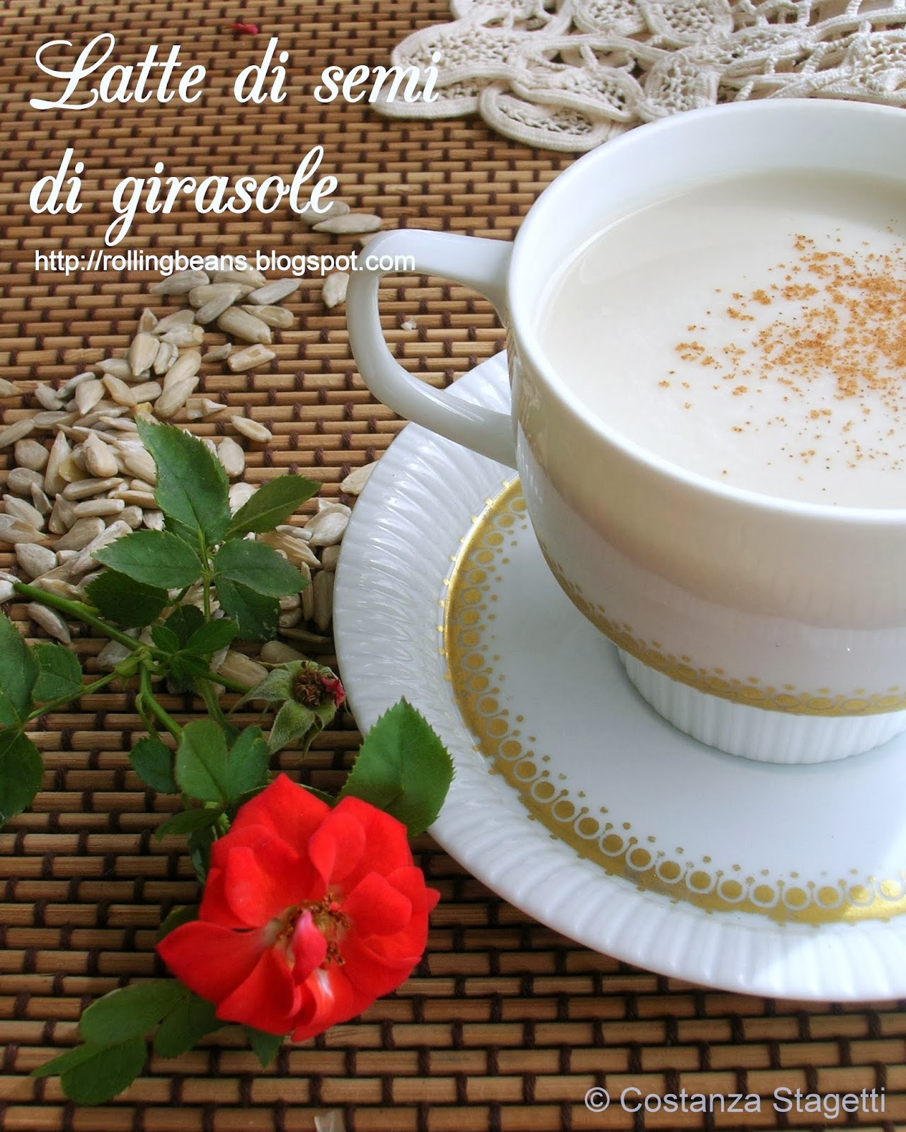 come fare il latte di semi di girasole