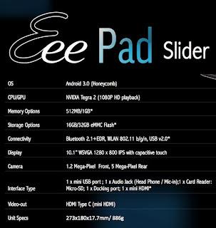 ASUS Eee Pad Slider picture 4