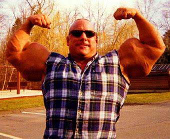 Greg Valentino el culturista más extremo del Mundo.