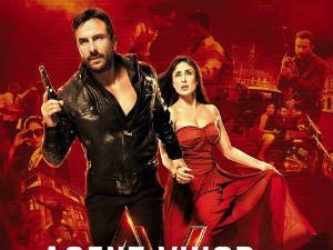 Kareena Kapoor Hot Saif Ali Khan in Agent Vinod