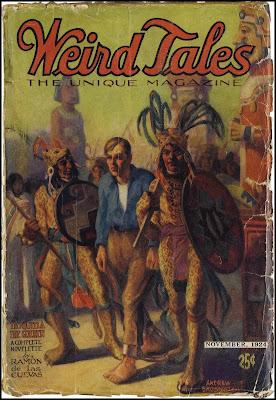 Weird tales August 1923 Fair Scarce 1st Clarke Ashton Smith!