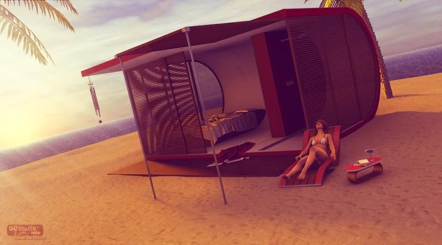 Beach Pod