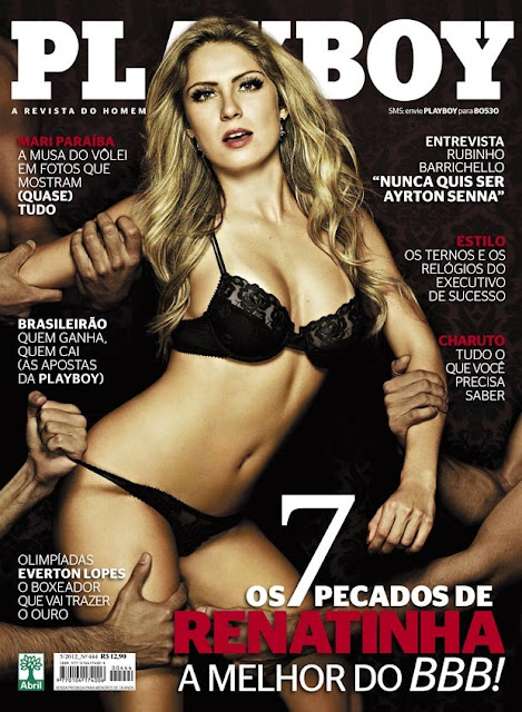 "Renatinha na capa da ""Playboy"" NUA"