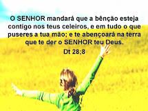 Deus te abençoe!