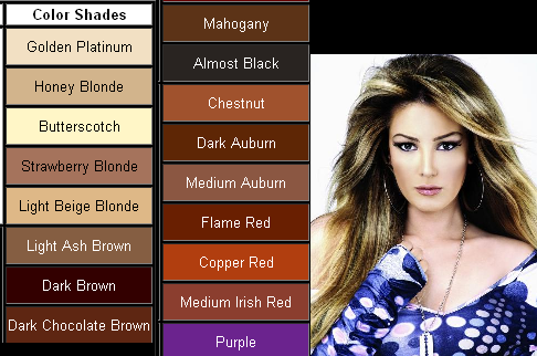 hair color chart 2011 prom hairstyles