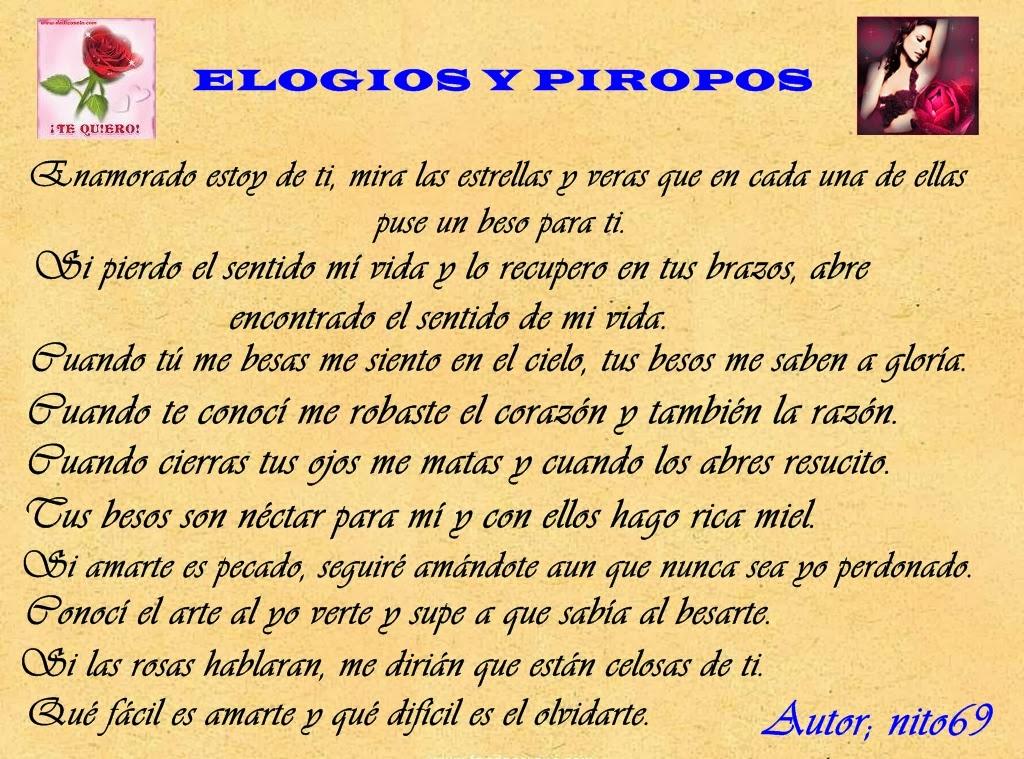 ELOGIOS Y PIROPOS I