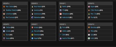 Hasil Drawing Liga Champions 2013/2014