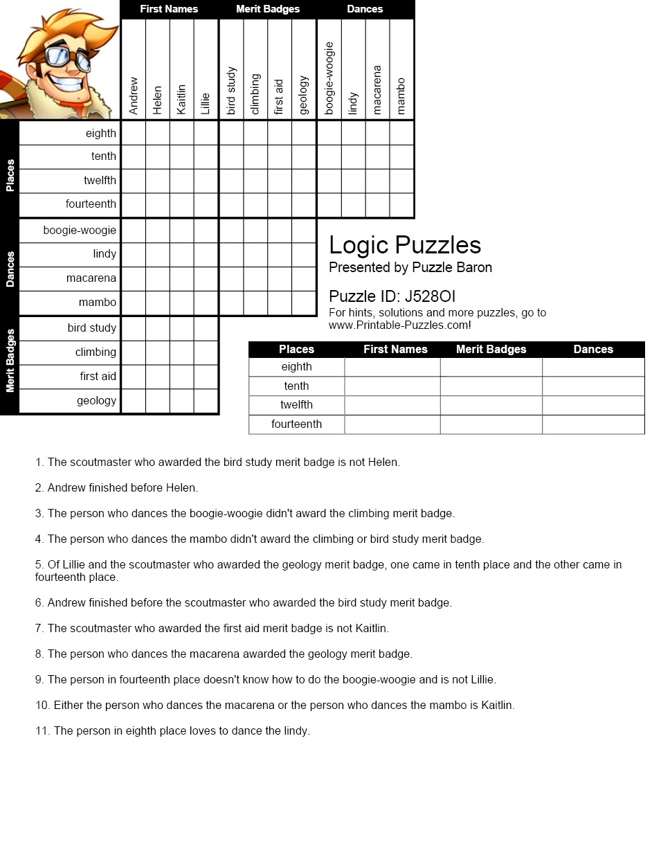 worksheet Pythagorean Theorem Puzzle Worksheet logic worksheets praradio printable worksheets