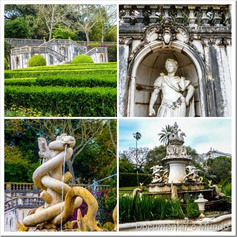 Fonte das 40 bicas; Jardim Botânico da Ajuda; Ajuda; Lisboa