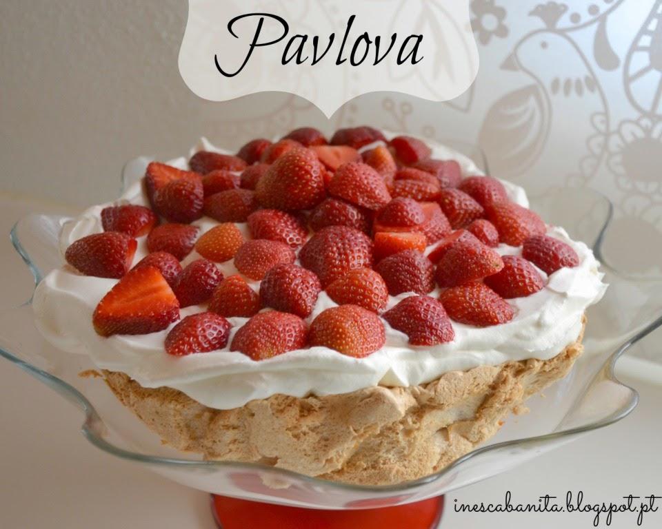 Pavlova receita