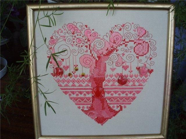 """схемы для вышивки """"Дерева"""