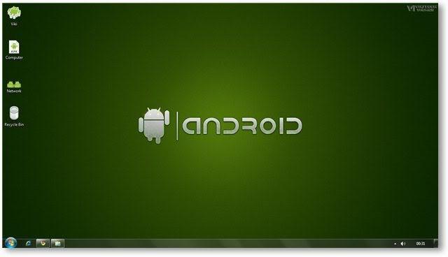 Cara Ubah Tampilan Windows 7 Menjadi Android