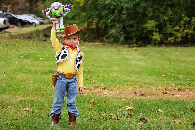 diy toy story costume