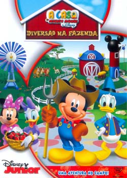 A Casa do Mickey Mouse Diversão na Fazenda (Dublado) DVDRip RMVB
