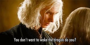 What a creepoid  Viserys Targaryen Gif