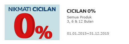 Belanja di Elevenia Gratis Voucher 1 Juta cicilan 0%