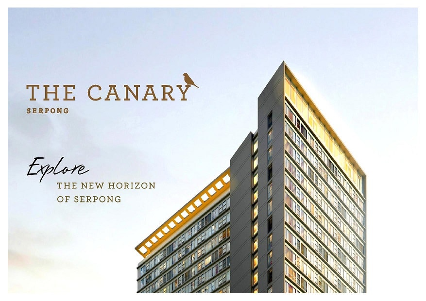 The Canary Serpong Apartment by Timitraland