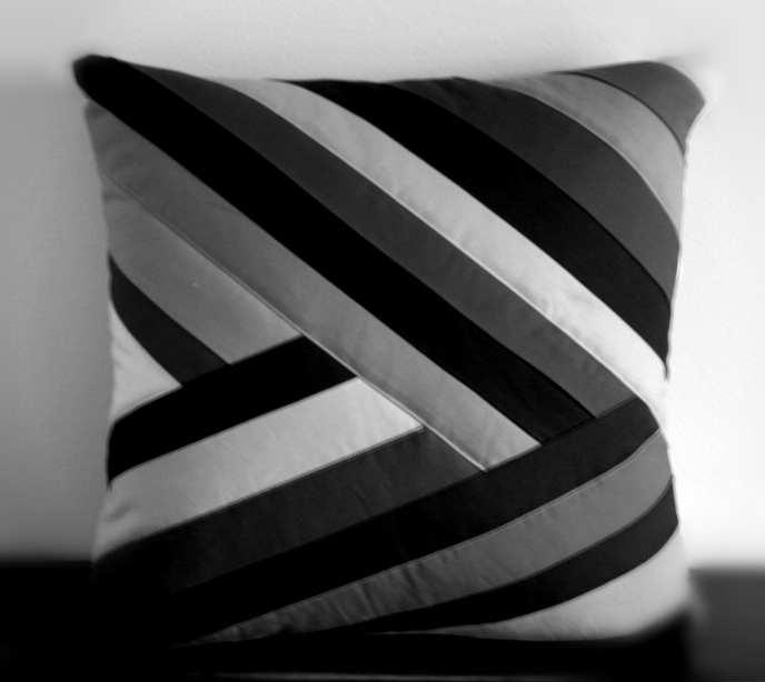 gk kreativ patchwork kissen. Black Bedroom Furniture Sets. Home Design Ideas