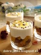 Tvarohový dezert s ovocím - recept
