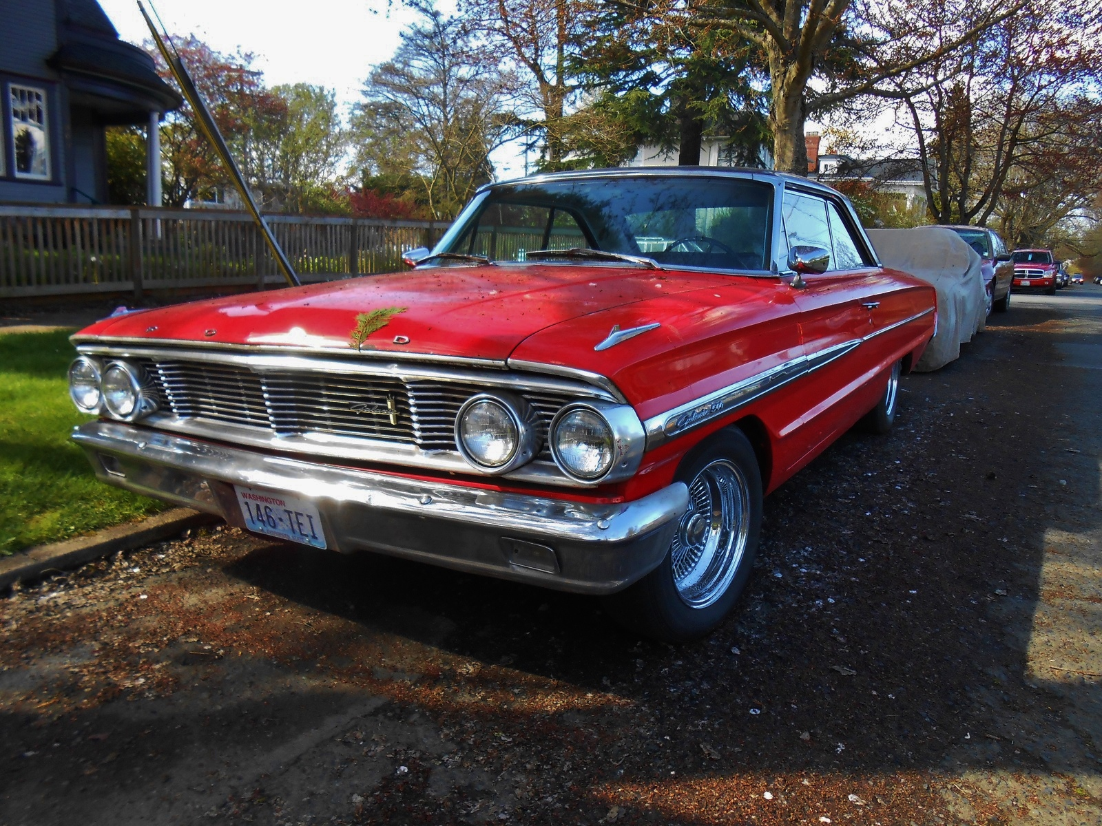 seattle 39 s parked cars 1964 ford galaxie 500. Black Bedroom Furniture Sets. Home Design Ideas