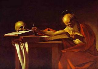 San Jerónimo escribiendo - Caravaggio